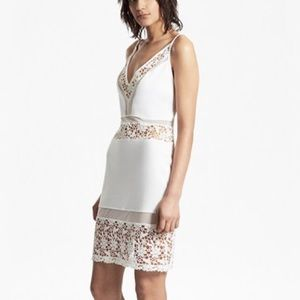 French Connection White Lacey Dress